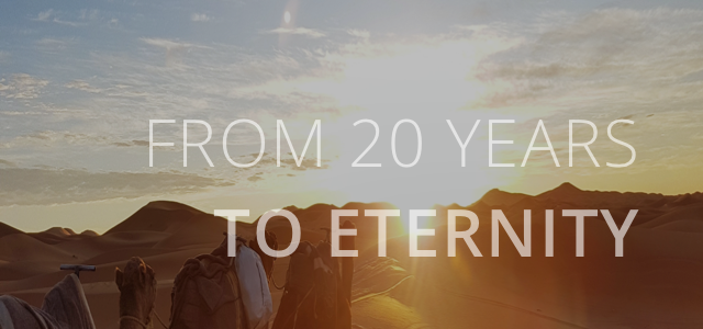 FROM 20 YEARS TO ENERNITY